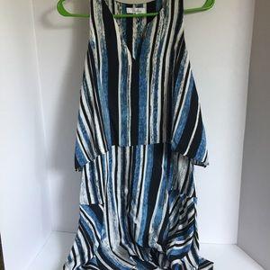 Pretty and Flowy Parker Silk Dress